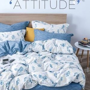 Other - 4 Pc Duvet cover set available in Twin/ Queen/King